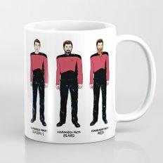 Stages of Riker Mug