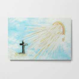 It's Impossible to Outgive God Metal Print