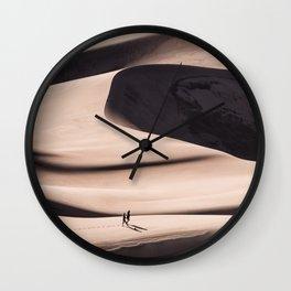 desert dune 2  Wall Clock
