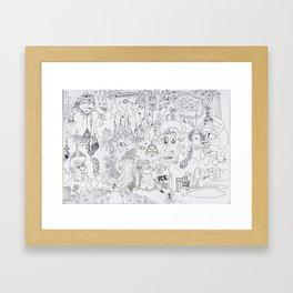Wacko Jacko #1 Framed Art Print