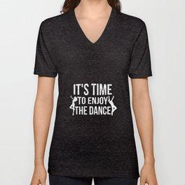 Dance Dance Teacher Dance Dancing Unisex V-Neck