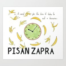 Pisan Zapra Art Print