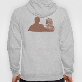 What We Don't Know Is Whether We Really Hate One Another -A Married Couple Hoody