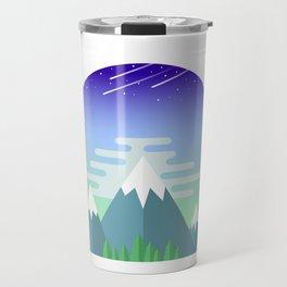 Space Mountains Travel Mug