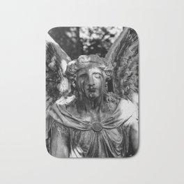Weeping Angel Black & White Bath Mat