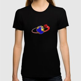 love is all around, #hatetolove T-shirt