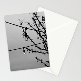 Winter Patio Stationery Cards