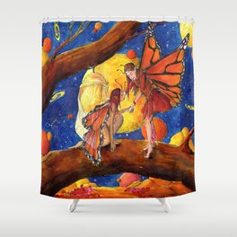 Welcome to the new world Shower Curtain