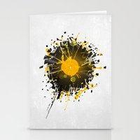 springsteen Stationery Cards featuring Don't Destroy the Vinyl by Sitchko Igor