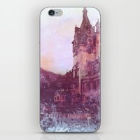 castle iPhone & iPod Skins featuring Castle by Nechifor Ionut