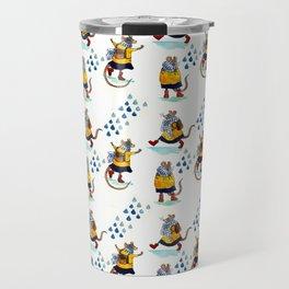 Rainy school day Travel Mug