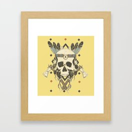 DEAD INJUN Framed Art Print