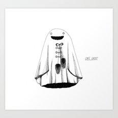 Cape Ghost Art Print