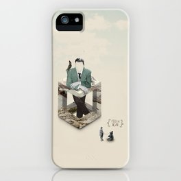 Feed the bear iPhone Case