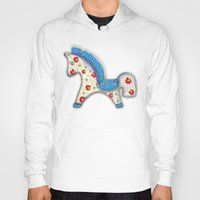 europe Hoodies featuring 2014 horse calendar (europe) by Katja Main