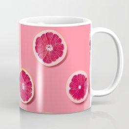 Pink Fruit Slices Coffee Mug