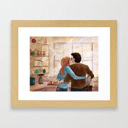 Secret Recipe Framed Art Print