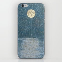 Runic Energies Radiate From Our Moon iPhone Skin