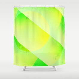 P E R I D O T Shower Curtain