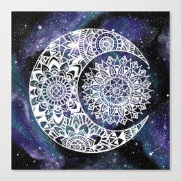 Sun and Moon Canvas Print