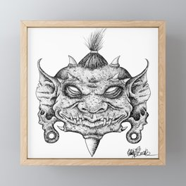 Goblin King Framed Mini Art Print