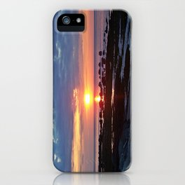 Sunset under Stormy Skies iPhone Case