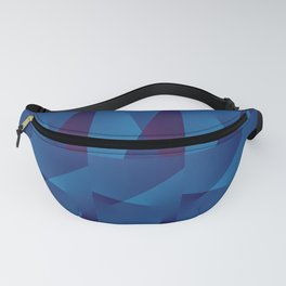 Abstract Geometric QQ Fanny Pack