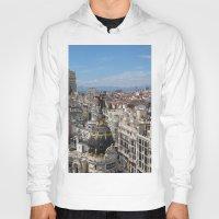 madrid Hoodies featuring Madrid Espana by Eduardo Doreni