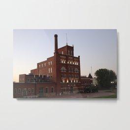 Dubuque Star Brewery Metal Print