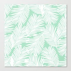 Areca Palm minimal tropical house plants minimalism art print zen chill decor Canvas Print
