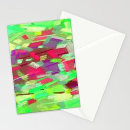 Abstraction of light Stationery Cards