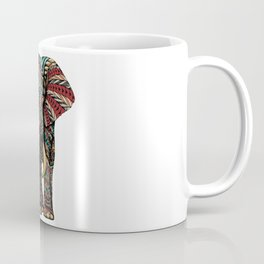 Ornate Elephant (Color Version) Coffee Mug