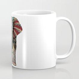 Ornate Elephant (Color Version) Coffee Mug