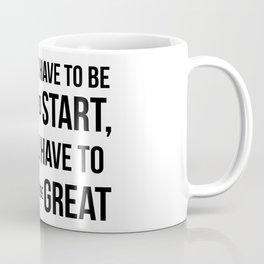 Start! Coffee Mug