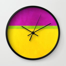 Composition 45 Wall Clock