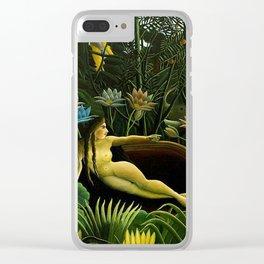 Henri Rousseau - The Dream Clear iPhone Case