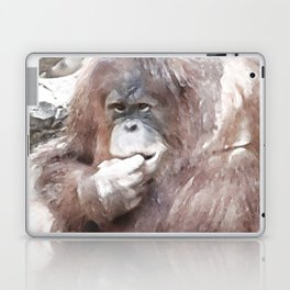 WColor Orang Utan Laptop & iPad Skin