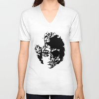 dylan V-neck T-shirts featuring Dylan by KATA