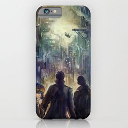 Dark district iPhone Case