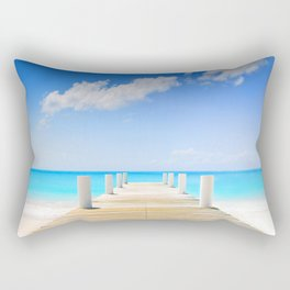 Beach Way Rectangular Pillow
