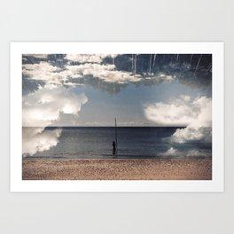 Sea Forest Art Print