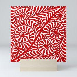 "William De Morgan ""Decorative scroll"" 8. Mini Art Print"