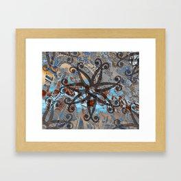 Ornaments Collage I Framed Art Print