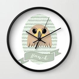 Mx. Hawk Wall Clock
