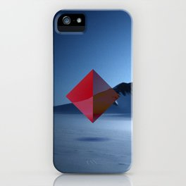 snow makes me think iPhone Case