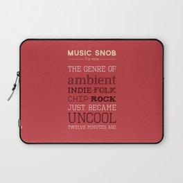 Hybrid Genres to Avoid — Music Snob Tip #506 Laptop Sleeve