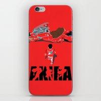 akira iPhone & iPod Skins featuring Akira by Pocketmoon designs
