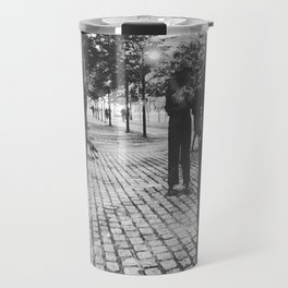 Famine Memorial Dublin Travel Mug