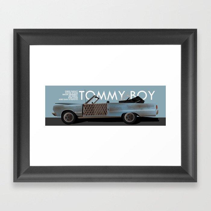Tommy Boy Gerahmter Kunstdruck