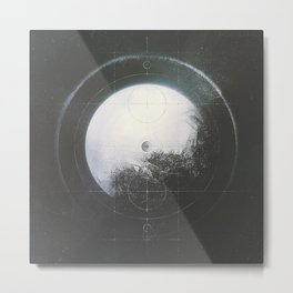 Arcane Compass (Cav x Timsandwick) Metal Print